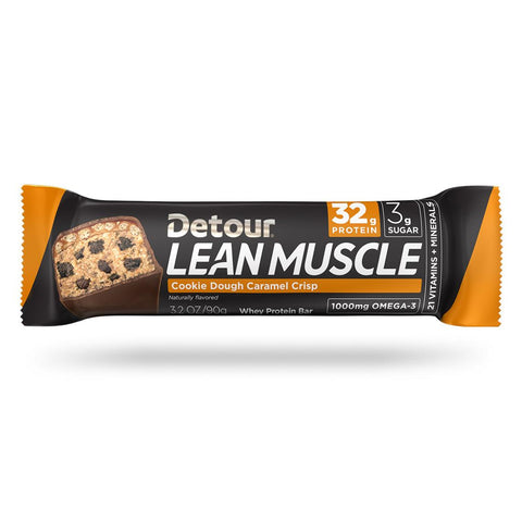 Detour Lean Muscle Cookie Dough Caramel Crisp wrap