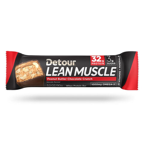 Detour Lean Muscle Peanut Butter Chocolate Crunch wrap