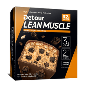 Detour Lean Muscle Cookie Dough Caramel Crisp 12ct box