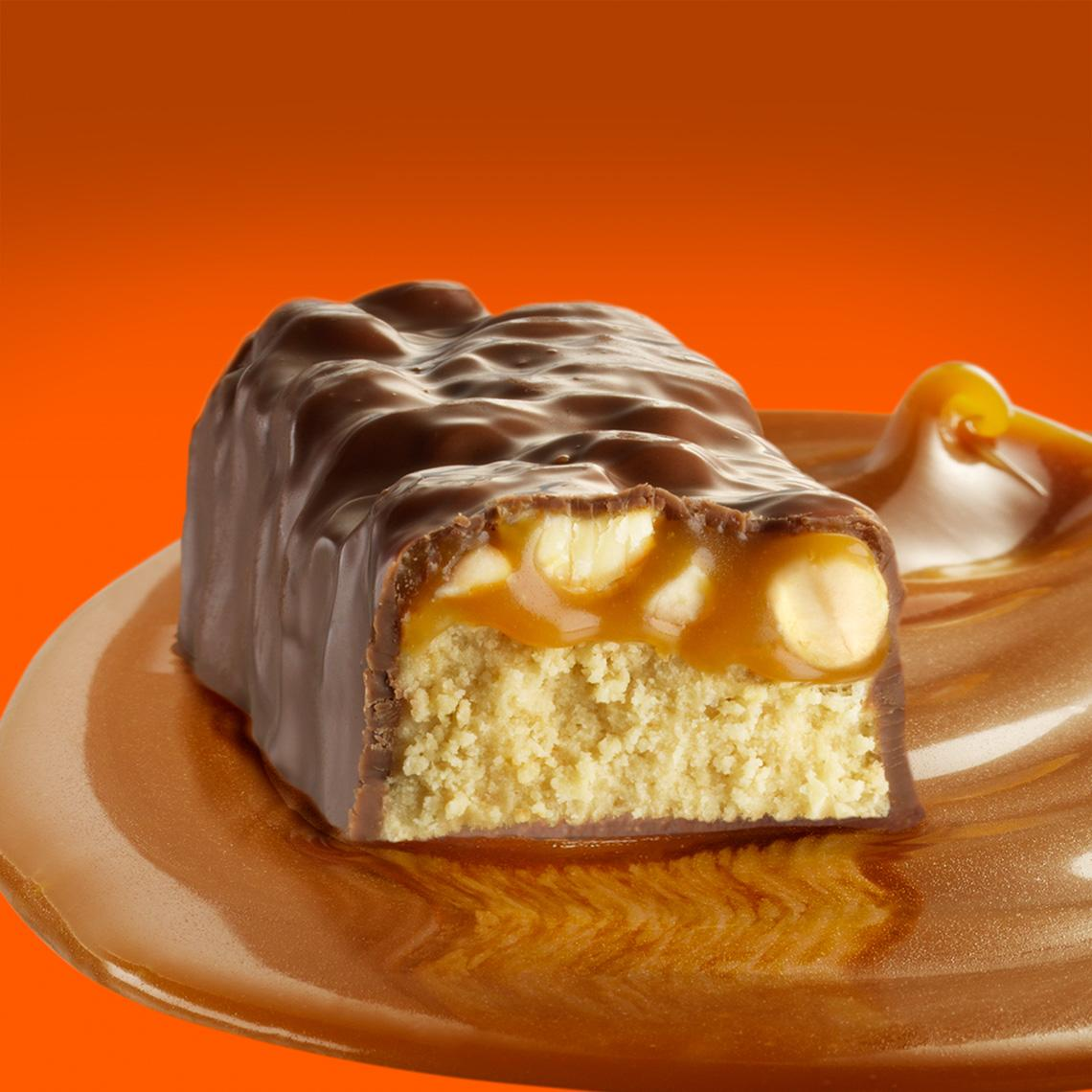 Detour Lower Sugar Caramel Peanut bar