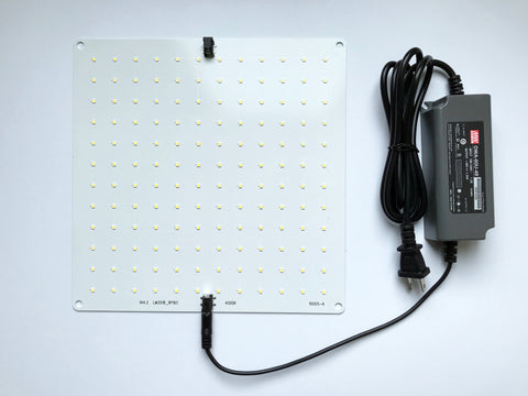 Atreum 60W LED Fixture, Vegetative Full Spectrum Grow Light Panel, Samsung LM301B