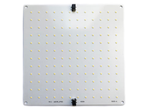 Atreum 144.2 LED Board, 48V, with Barrel Connectors, Vegetative Full Spectrum Grow Light Panel, Samsung LM301B