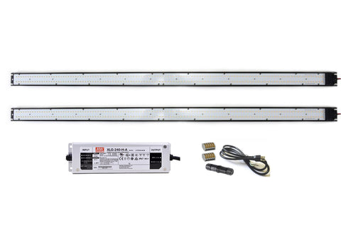 ARA-40 LED Light Bar Kit, 4-ft, 2-Pack, with 240W Driver