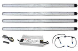 ARA-41 LED Light Bar Kit, 4-ft, 4-Pack, with 480W Driver