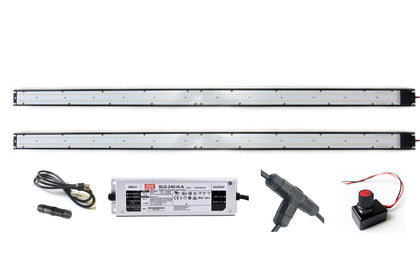ARA-41 LED Light Bar Kit, 4-ft, 2-Pack, with 240W Driver - Atreum Lighting