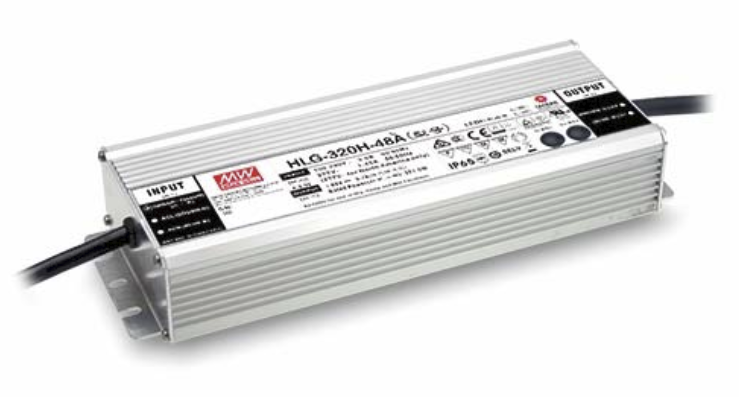 Meanwell HLG-320H-54 LED Driver, 320W