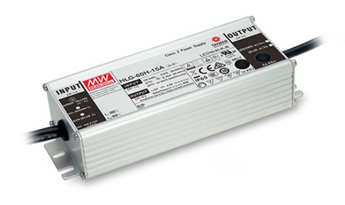 Meanwell HLG-60H-54 LED Driver, 60W