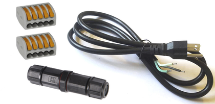 Connector Kit (North America) - Power Cord, Wago Lever Nut, Junction Connector