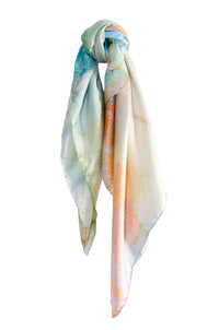 New: The Pastel silk scarf
