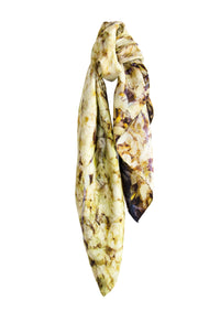 New: The Yellow silk scarf