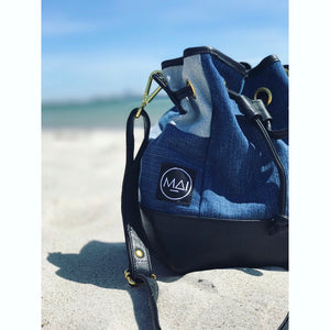 Upcycled Bucket Bag
