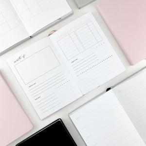 PrintPression Planner - B6 - (DAILY LAYOUT)