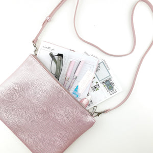 RTS - METALLIC ALISON CROSSBODY POUCH