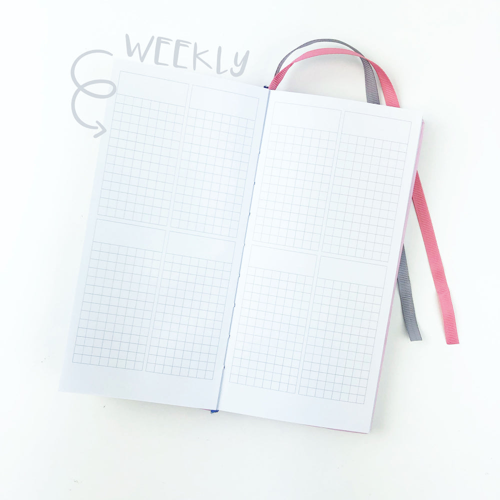 PrintPression Planner - WEEKS - (WEEKLY LAYOUT)