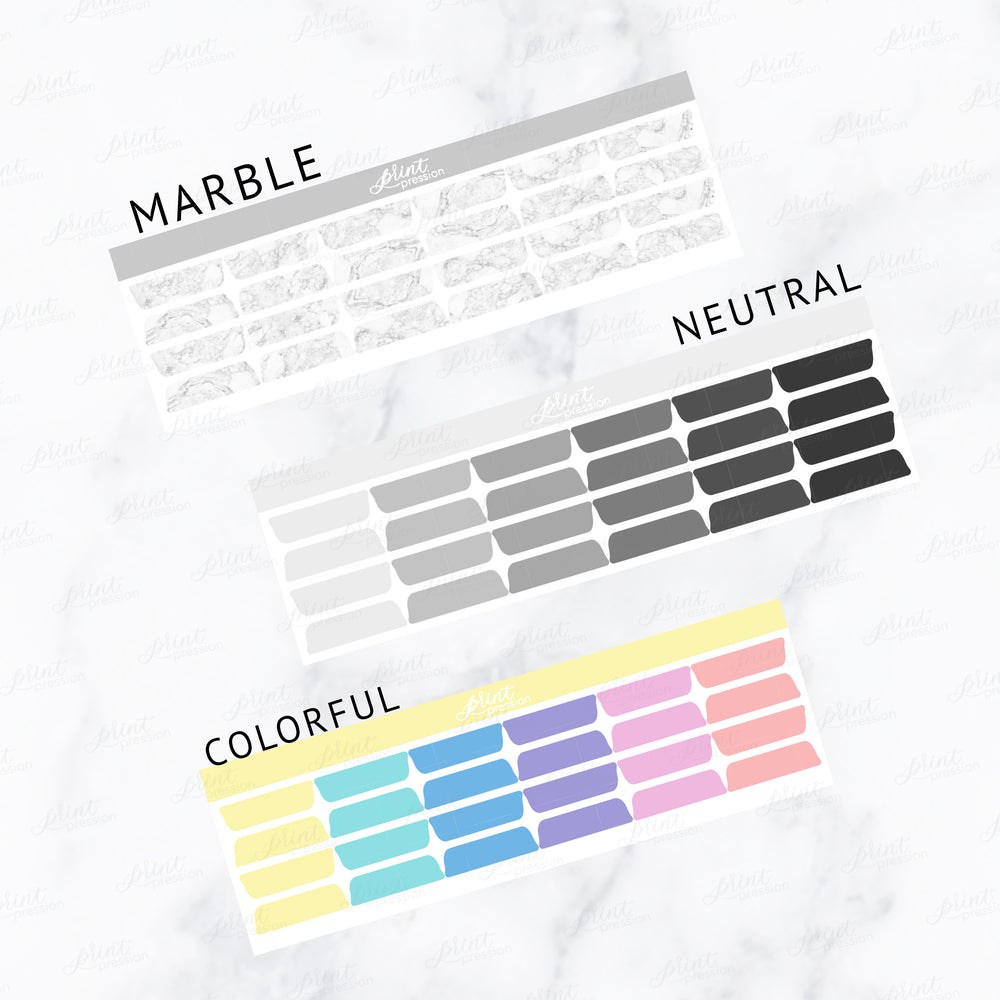 COLOR TAB OVERLAYS