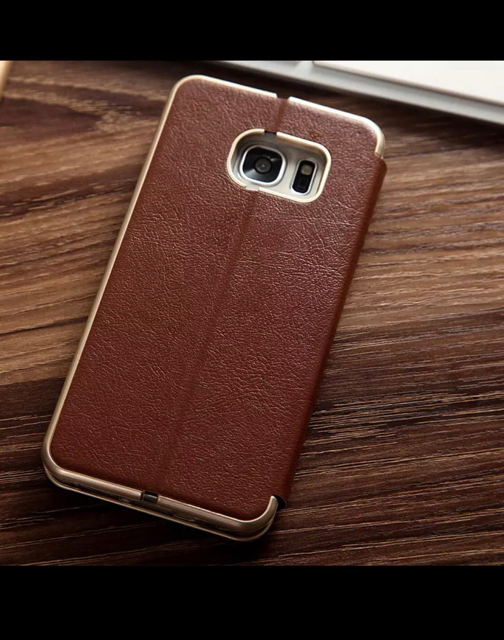 Leather Samsung Galaxy S8 magnetic flip case