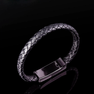 Leather Bracelet & Phone Charger - Dudevillage