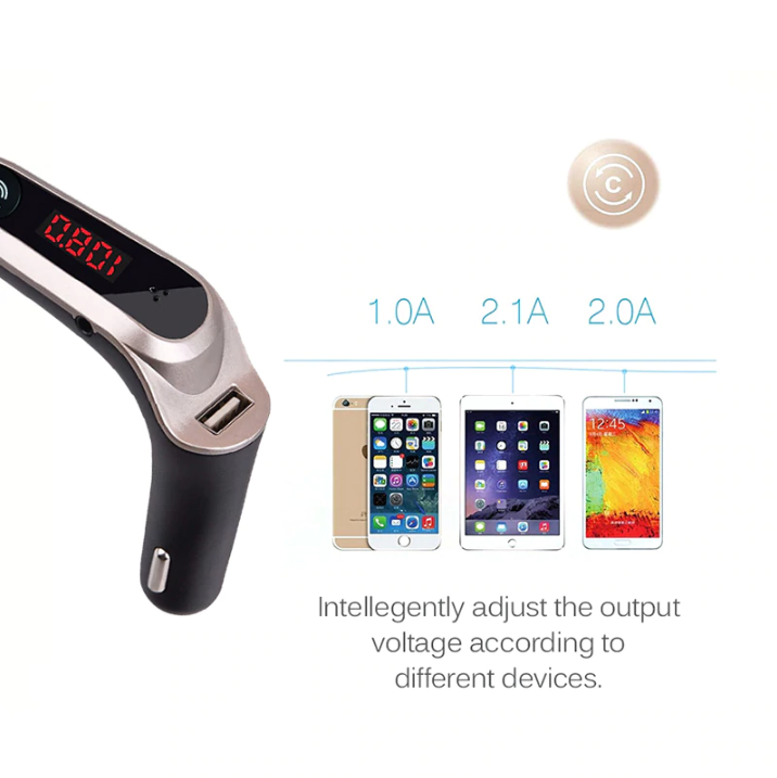 Wireless - Bluetooth Car Kit & MP3 Player - Dudevillage