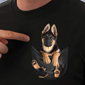 Pocket Dog - T-shirt