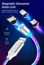 Magnetic Flowing LED Charger