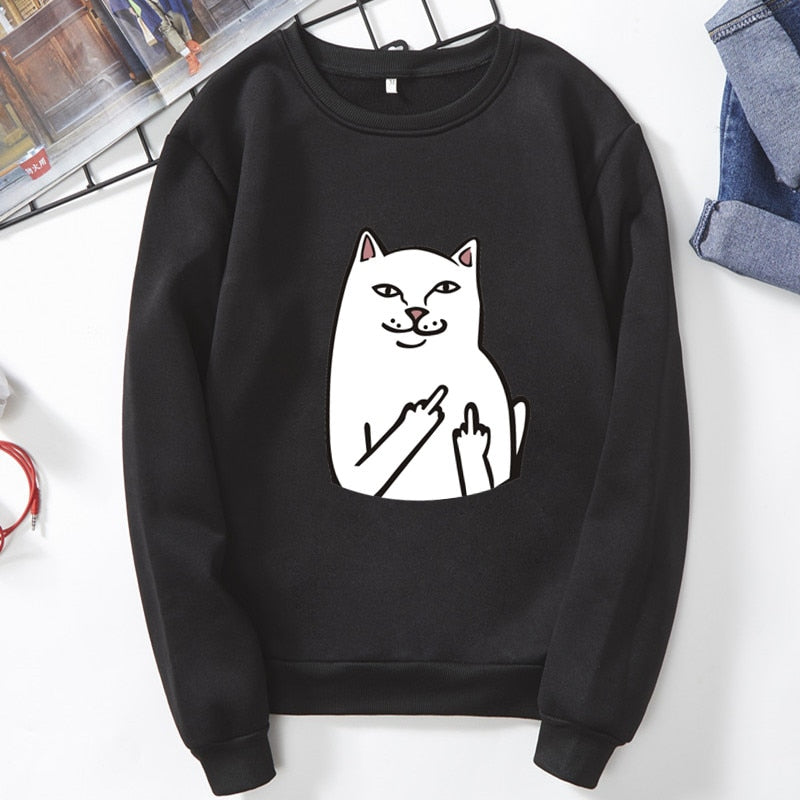 Vogue Cat - Sweatshirt