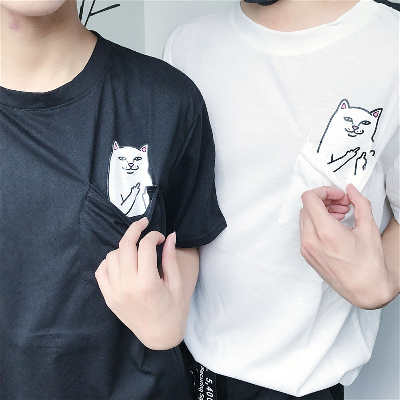 Pocket Cat - T-shirt