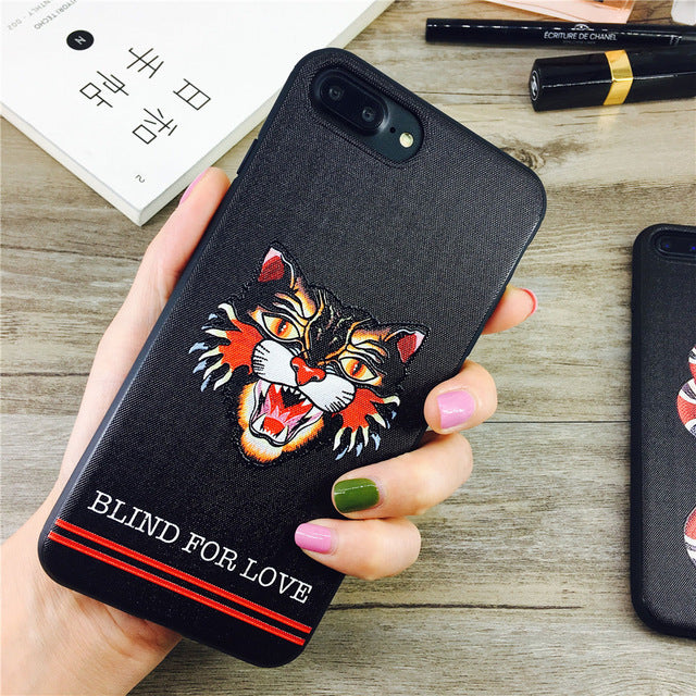 Snake and Cat Phone Case - Dudevillage