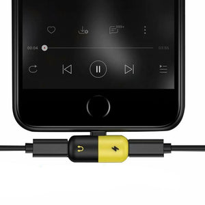 Dual Port Splitter (Aux Jack and Charging Cable port) - Dudevillage