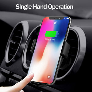 Wireless Fast Charger - Car Mount - Dudevillage