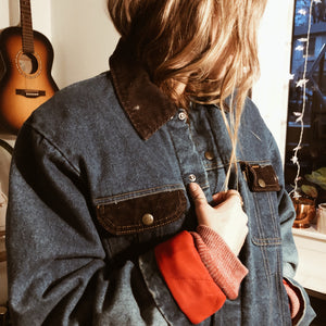 Denim & Cord Jacket