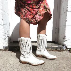 Diamond Cut Boots