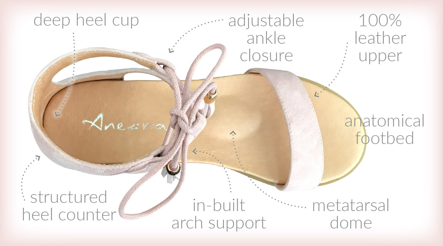 Aneara Paige Orthopaedic Childrens Shoe Podiatrist Approved