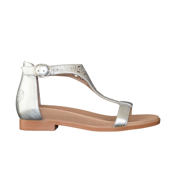comfy shoes with arch support aneara amelia silver narrow width