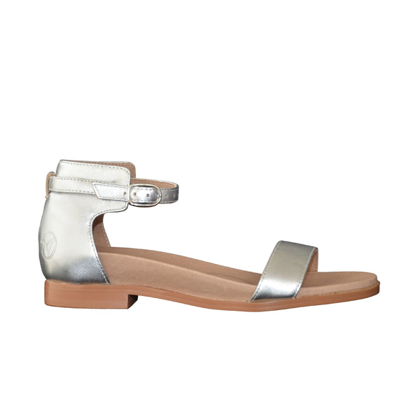 Supportive shoes aneara Charlotte silver standard width
