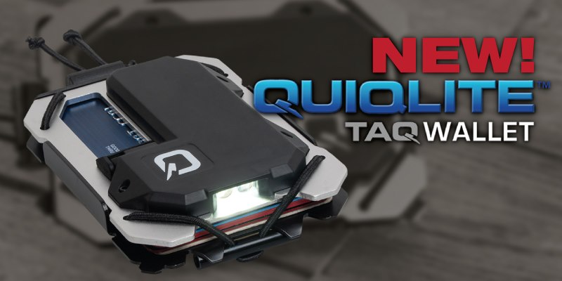 Money Meets Multi-Tool in the Supercharged TAQ Wallet by Quiqlite