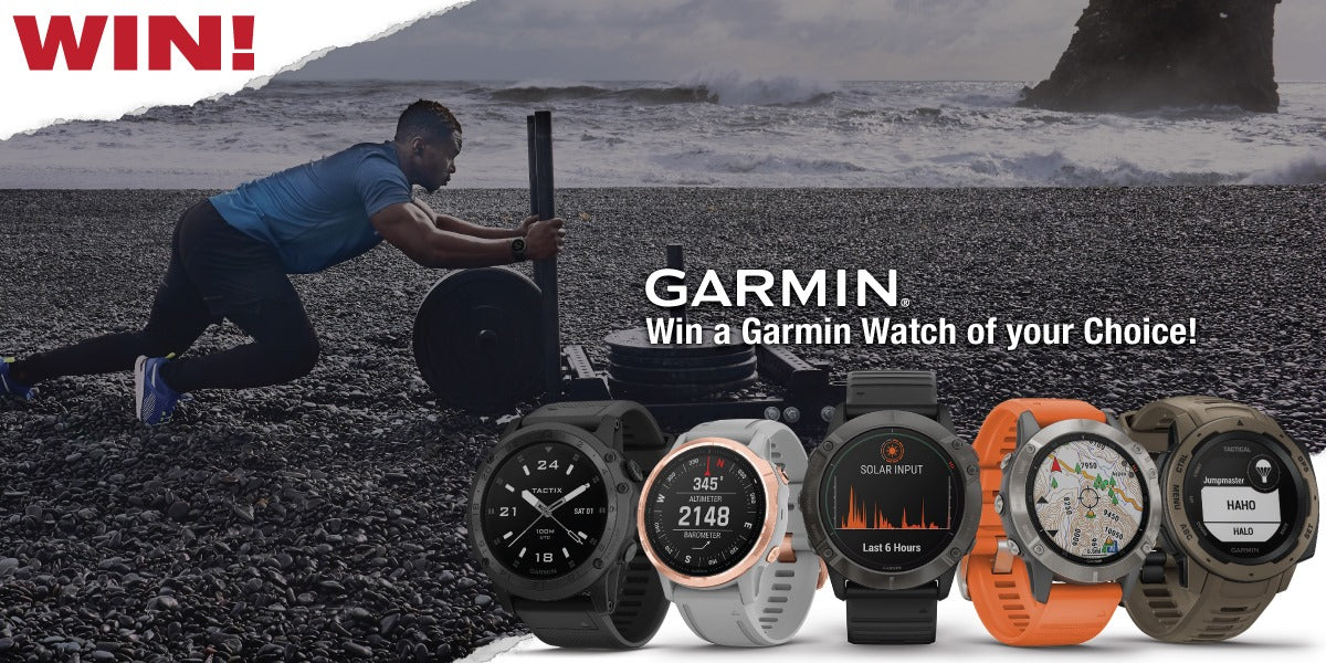 Garmin Watch Giveaway Tactical Gear Giveaway