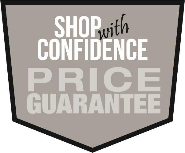 Shop with Confidence - Price Guarantee!