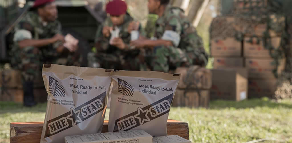 Meals Ready to Eat Disaster Food Rations