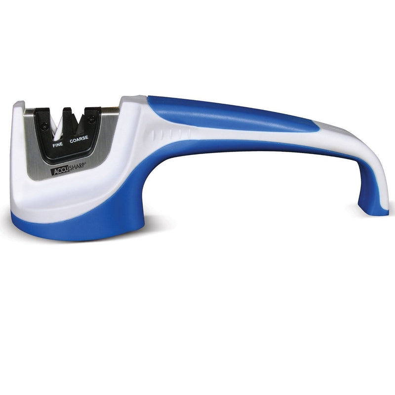 AccuSharp Classic Pull-Through Knife Sharpener - White/Blue-Sharpeners-Tactical Gear Australia