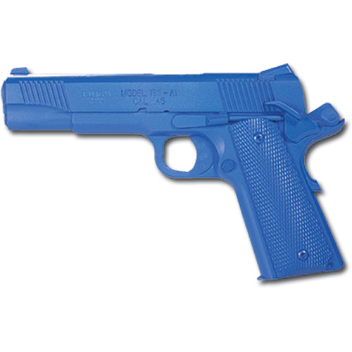 Blue Training Guns - Springfield 1911 - A1 Cocked & Locked Color: Black Weighted: Yes Tactical Gear Australia Supplier Distributor Dealer