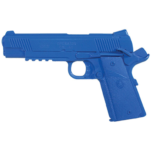 Blue Training Guns - Springfield Operator Cocked & Locked Color: Black Weighted: Yes Tactical Gear Australia Supplier Distributor Dealer