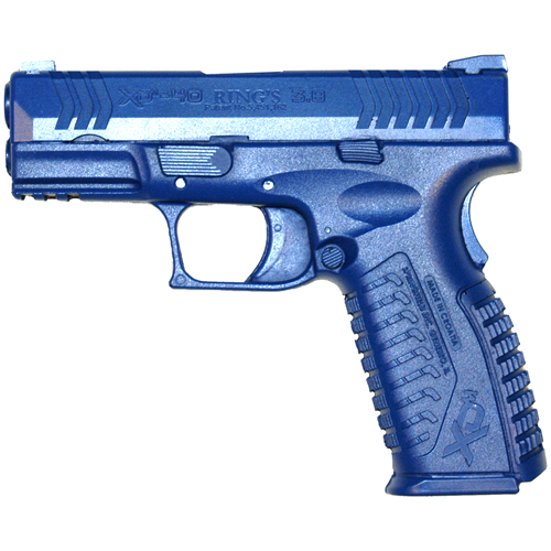 Blue Training Guns - Springfield XDM 3.8 Color: Blue Weighted: No Tactical Gear Australia Supplier Distributor Dealer