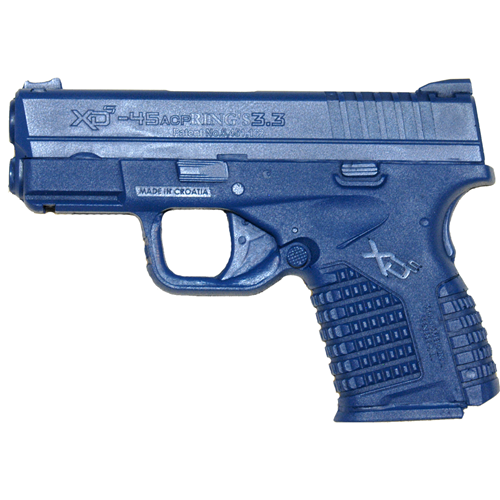 Blue Training Guns - Springfield XDS 3.3 Pistol Color: Black Weighted: Yes Tactical Gear Australia Supplier Distributor Dealer