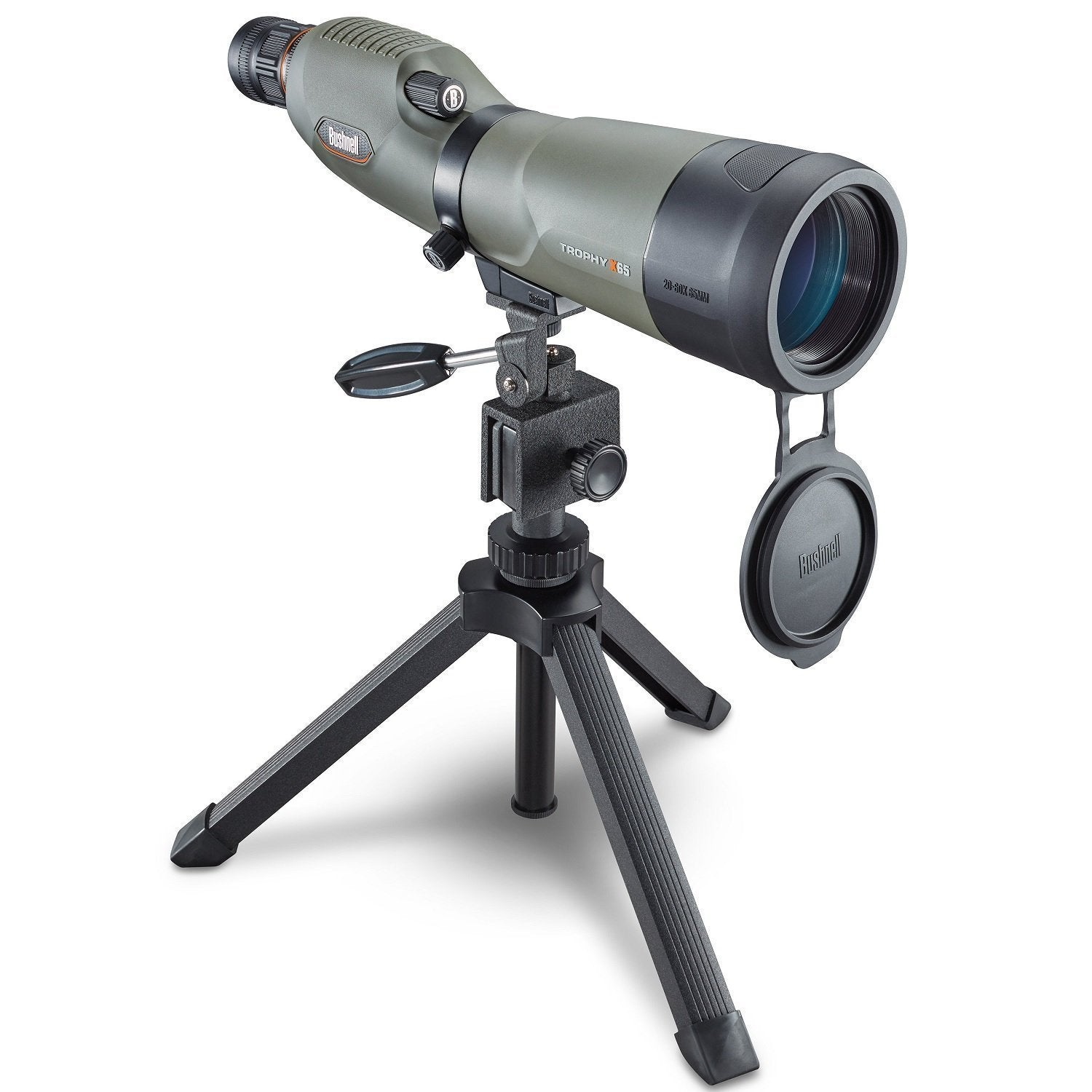 Bushnell Trophy Xtreme Spotting Scope 20-60X65-Xtreme Green-Optics-Tactical Gear Australia