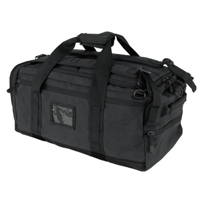 Condor Centurion Duffle Bag Black-Bags, Backpacks and Protective Cases-Tactical Gear Australia