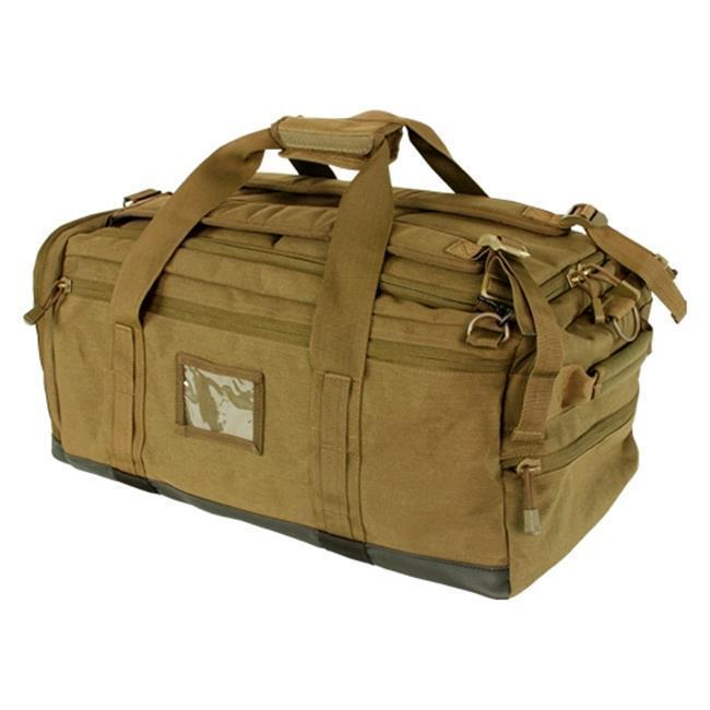 Condor Centurion Duffle Bag Coyote Brown-Bags, Backpacks and Protective Cases-Tactical Gear Australia