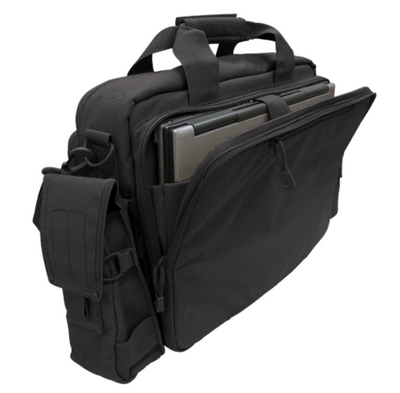Condor Tactical Briefcase Black-Bags, Backpacks and Protective Cases-Tactical Gear Australia