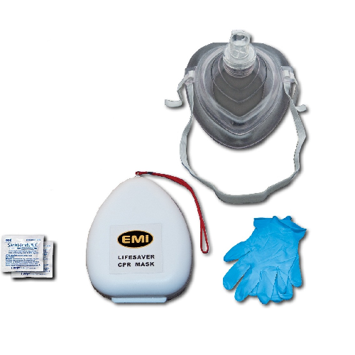 EMI Emergency Medical Life Saver CPR Mask Kit 491-First Aid and Medical-Tactical Gear Australia