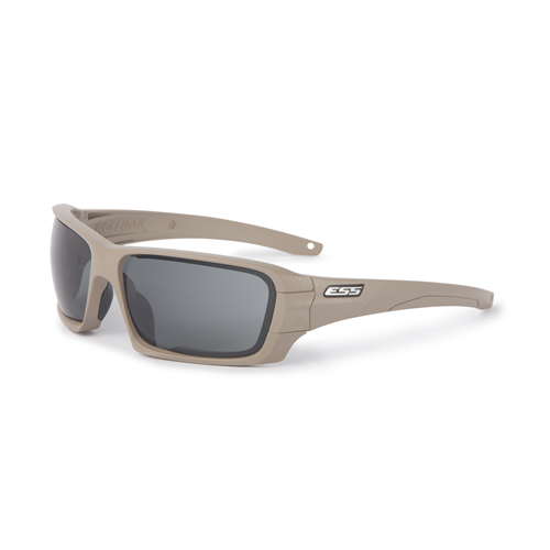 ESS Eyepro Rollbar Terrain Tan Smoke and Clear 2 Lens Kit-Eyewear-Tactical Gear Australia