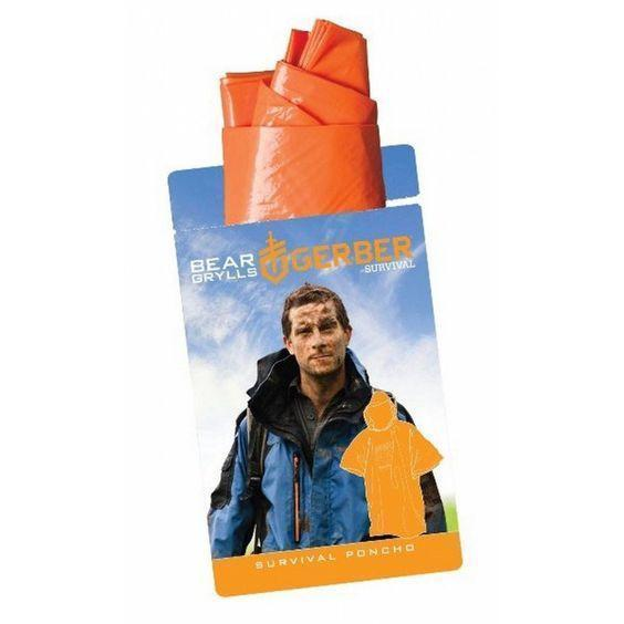 Gerber Bear Grylls Survival Poncho-Clothing and Apparel-Tactical Gear Australia